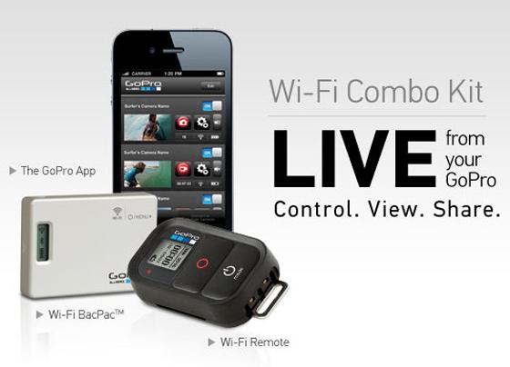 GoPro WiFi Bac Pac Combo Kit