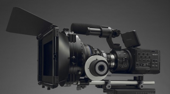 Sony NEX FS100 Cinema Rig