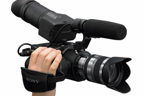 Sony NEX FS100 Poignée