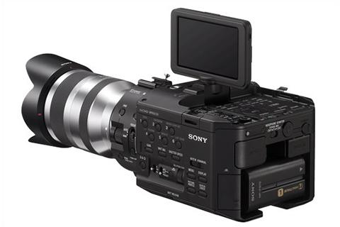 Sony NEX FS100 Ecran