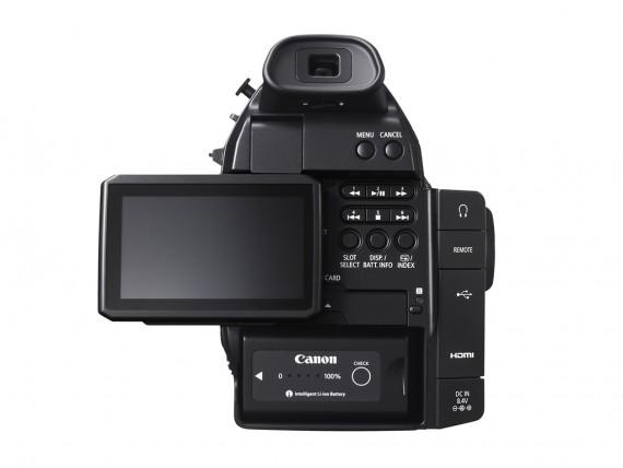 Canon EOS C100 - Ecran