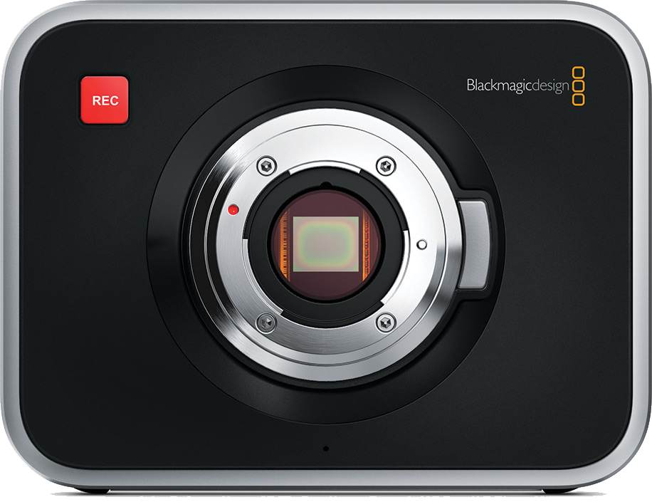 Capteur Blackmagic Cinema Camera